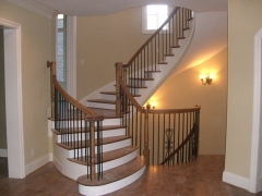freestanding curve stair